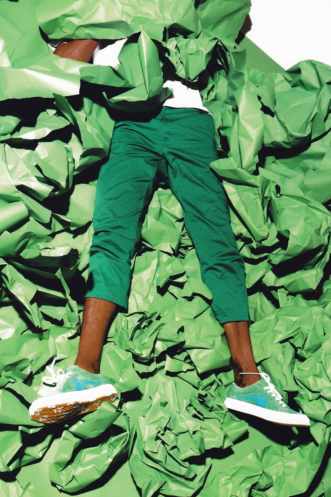 Tyler, The Creator and Converse Team Up For a New GOLF le FLEUR Signature Sneaker
