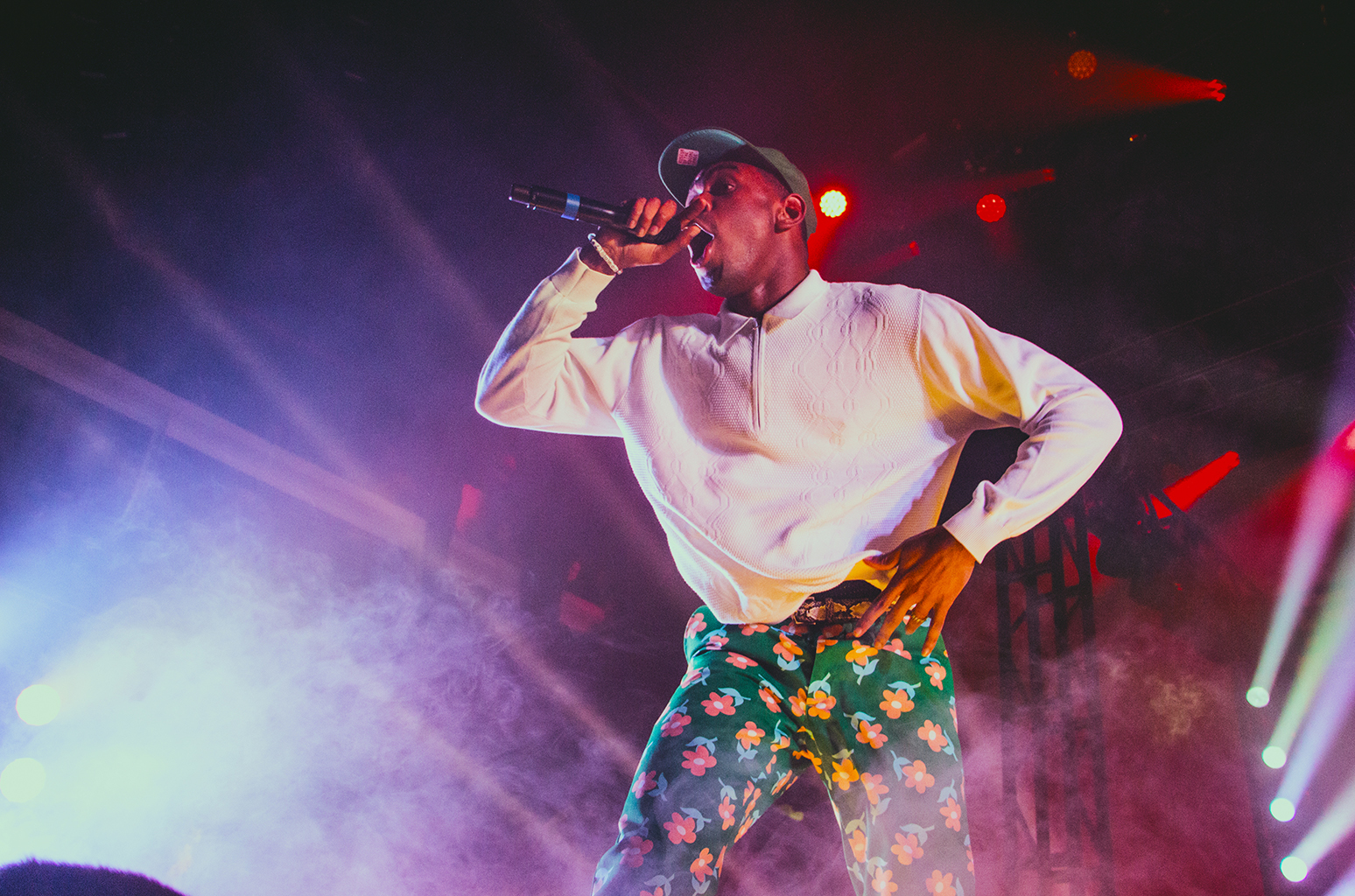 Tyler, the Creator Goes Crazy At Sold-Out NYC Terminal 5 Show Alongside A$AP Rocky