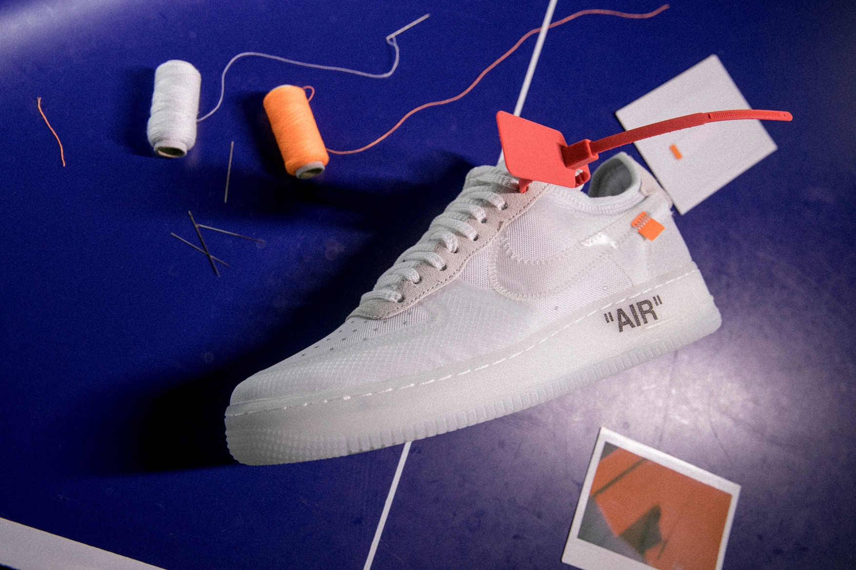 "Virgil Abloh x Nike ""The Ten"" Collection Gets the Ultimate Close-Up in New HBX Editorial"
