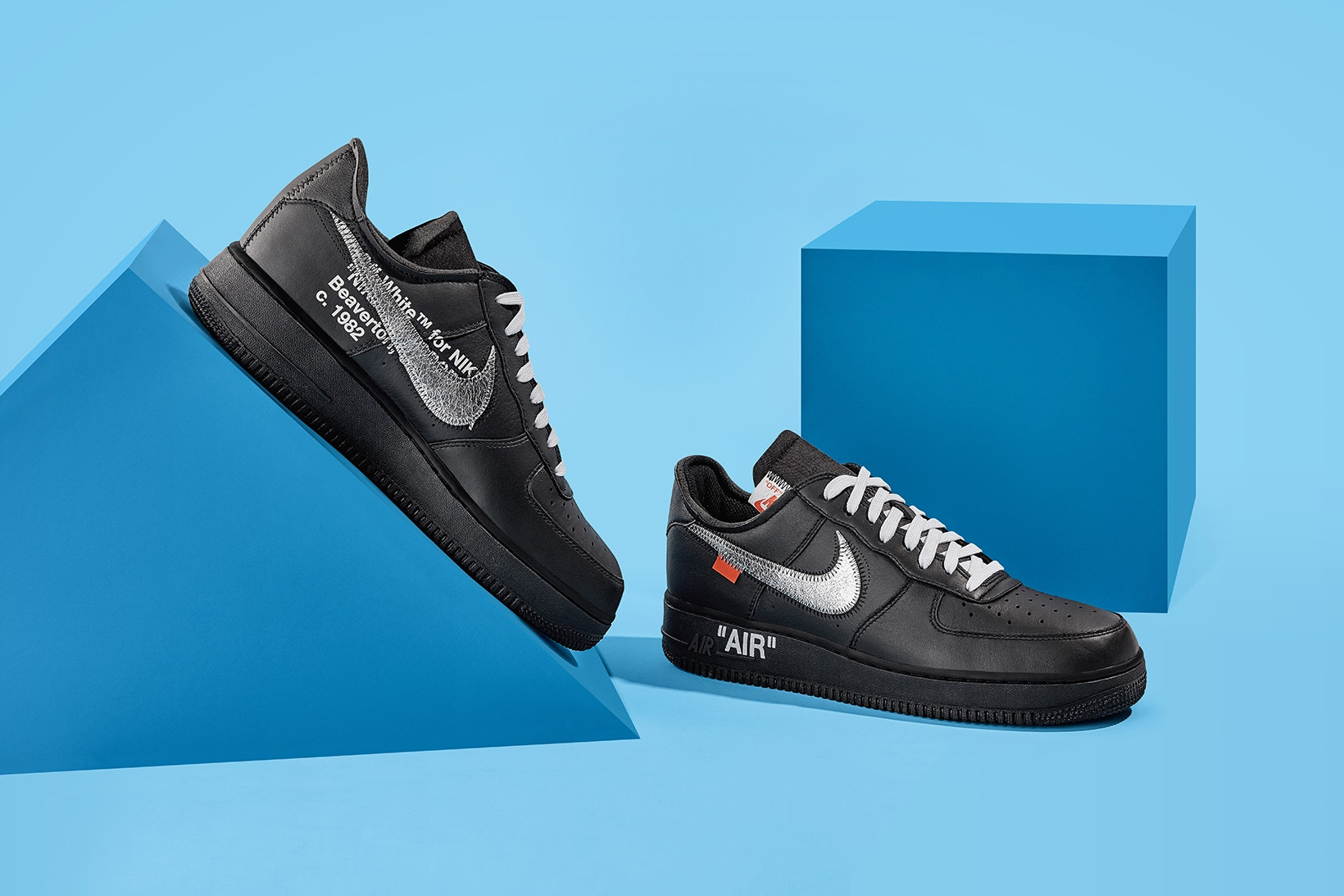 Virgil Abloh x Nike AF1 Collab Revealed