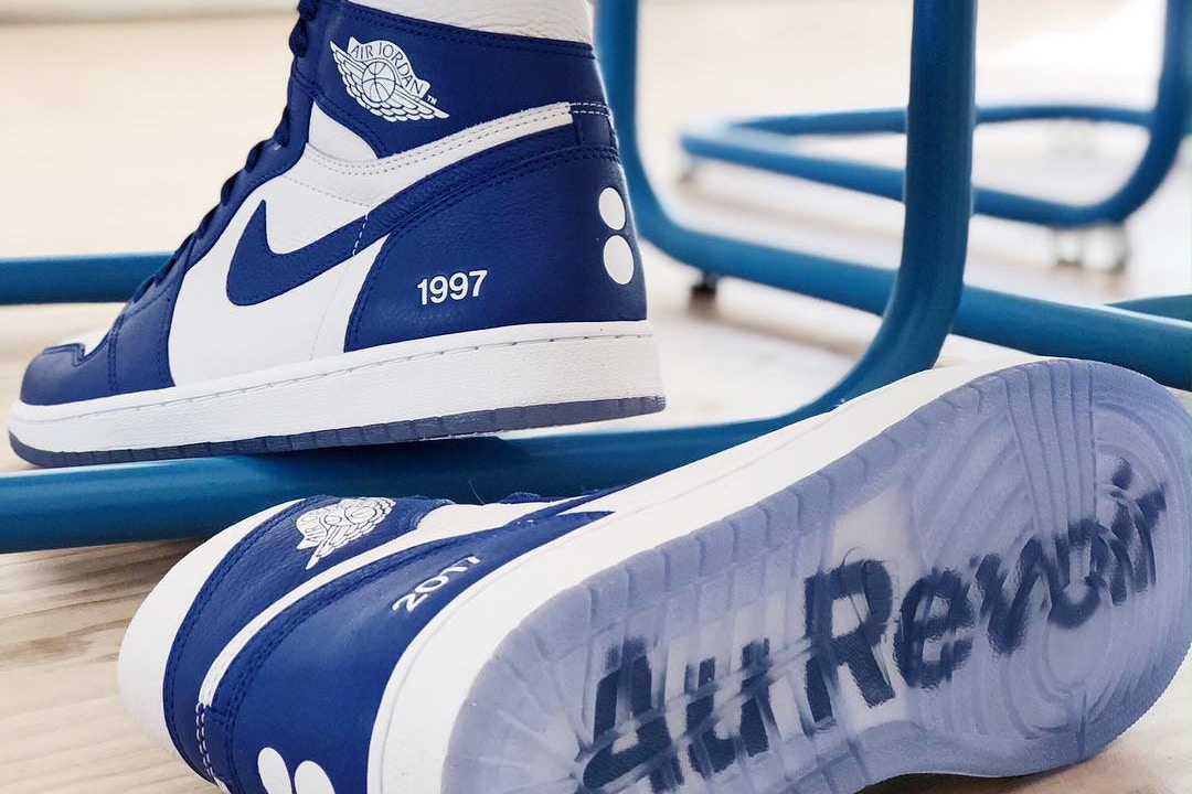 Nike Gifts colette a Special Pair of Air Jordan 1s