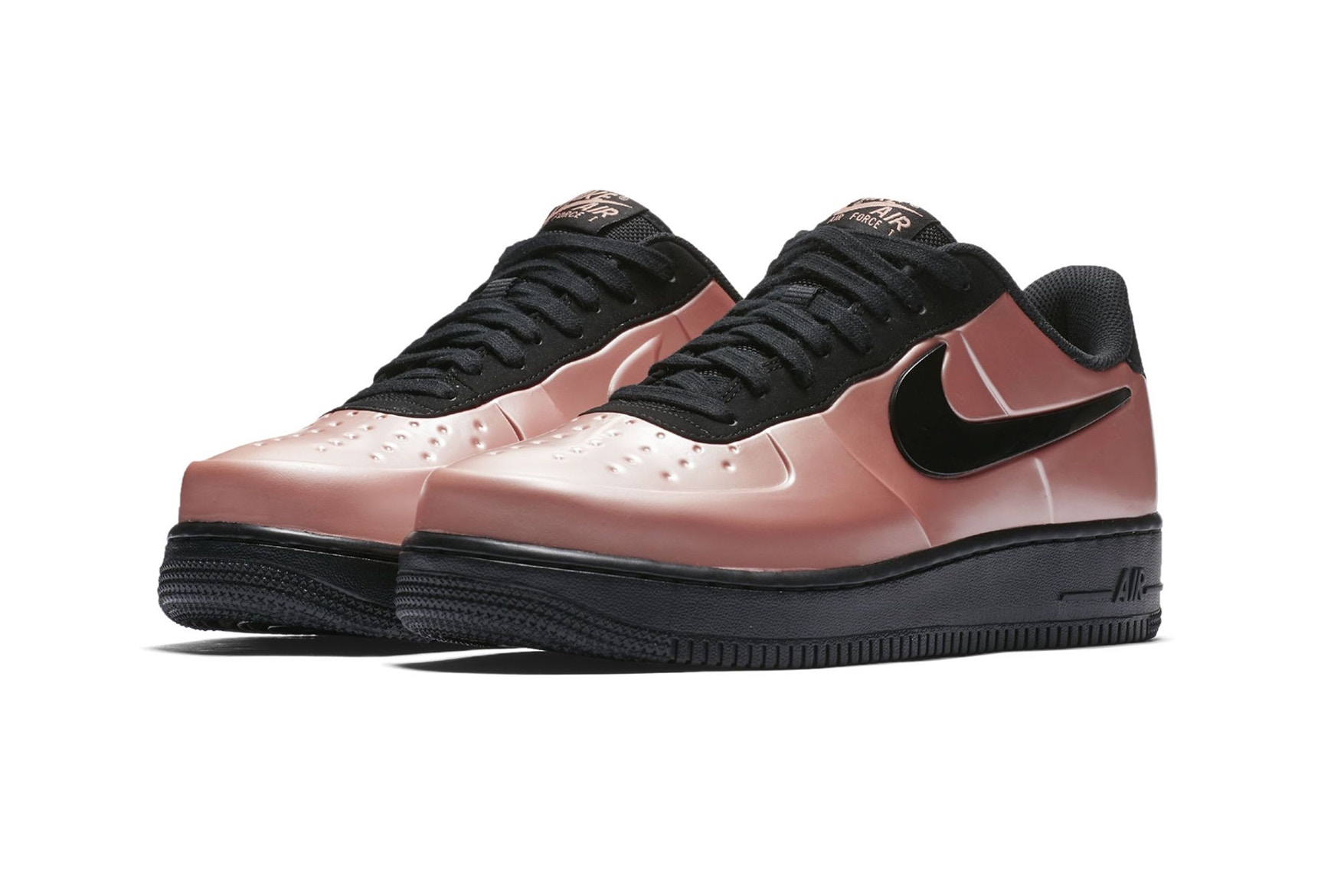 Nike's Air Force 1 Foamposite Makes a Comeback in Metallic Pink