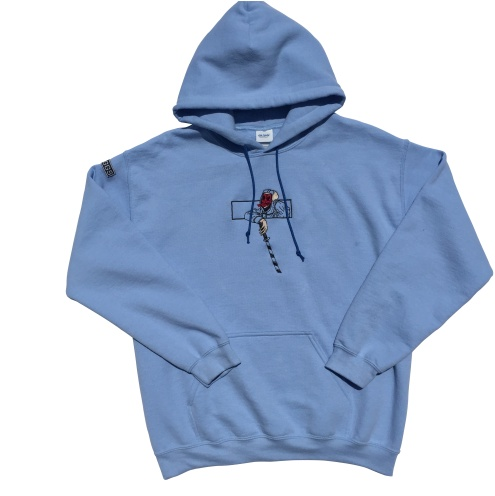 """Hoodie from @byseaggs recent """"SAM"""" collection"""