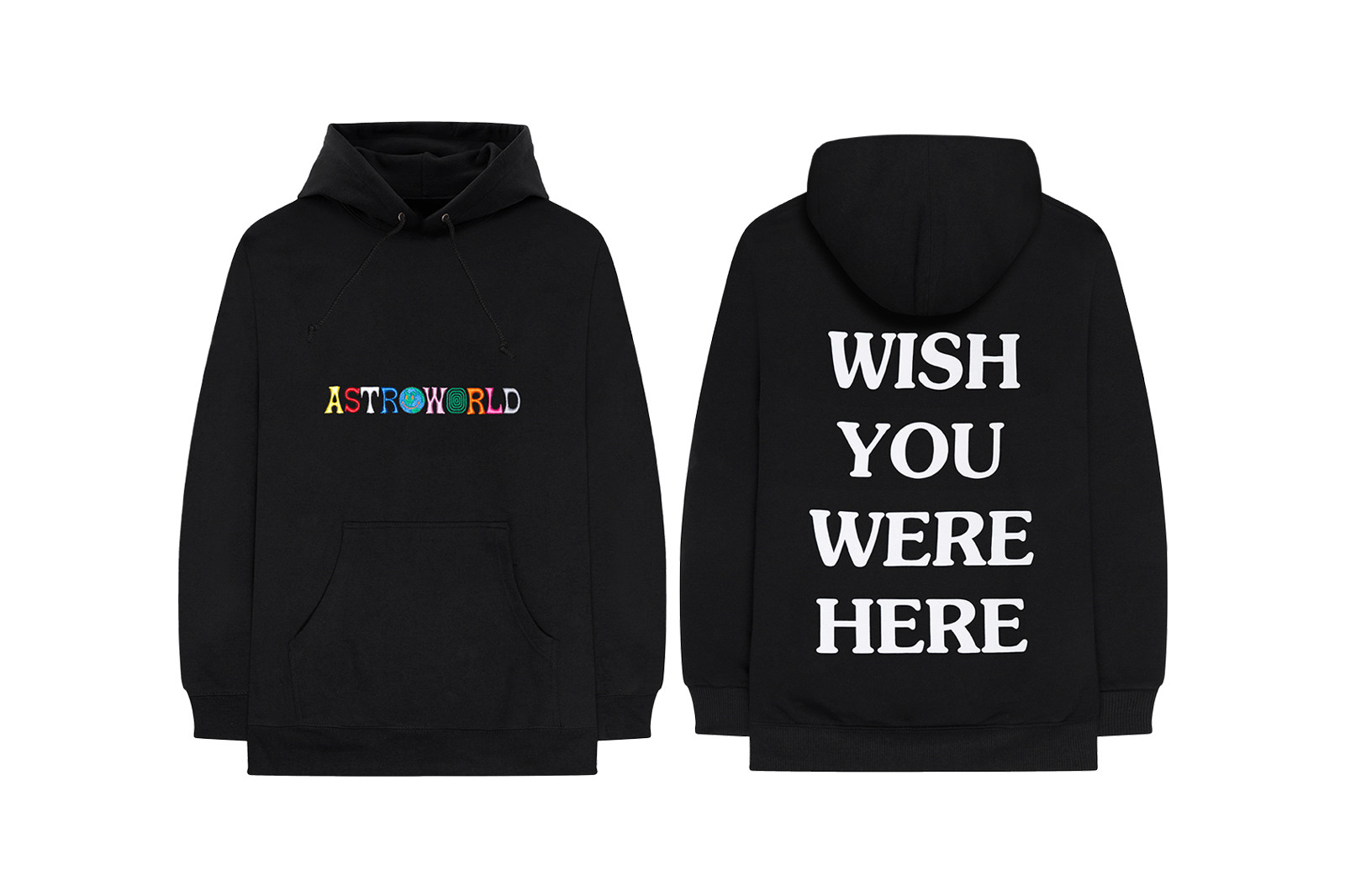 Travis Scott's First 'Astroworld' Merch Collection Is Now Live For 24hrs