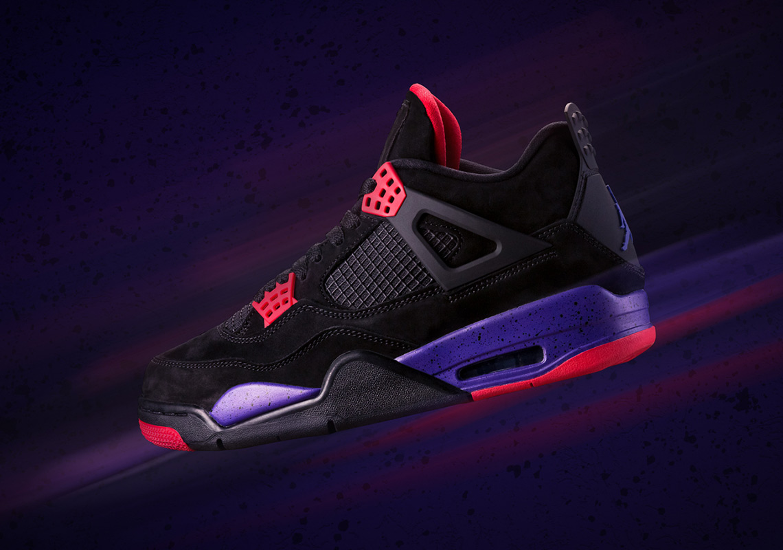 "Where To Buy The Air Jordan 4 ""Raptors"""