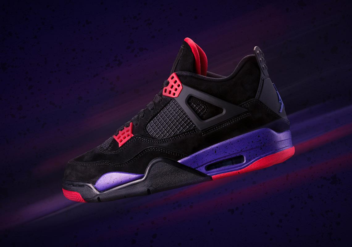 """Where To Buy The Air Jordan 4 """"Raptors"""""""