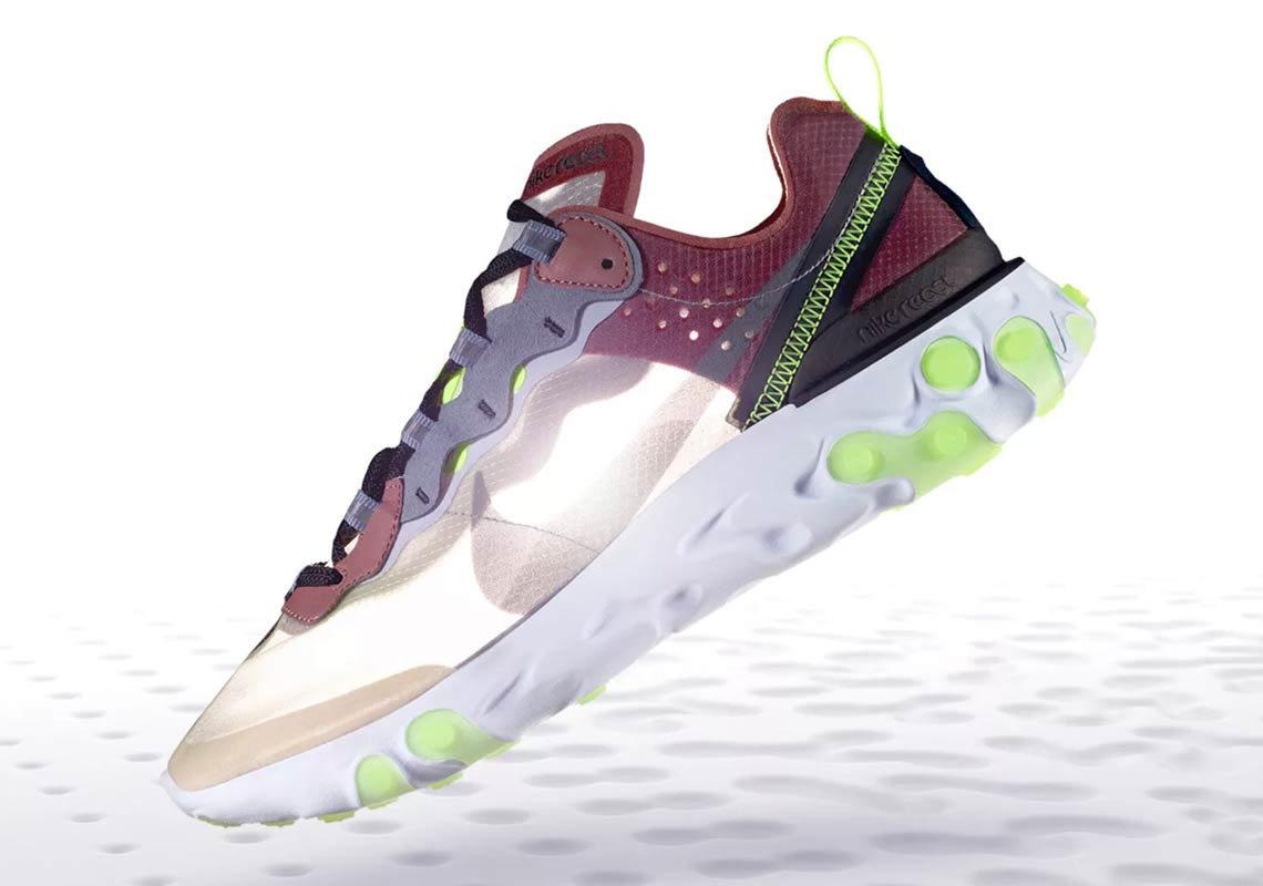"Where To Buy: Nike React Element 87 ""Desert Sand"" and ""Dark Grey"""